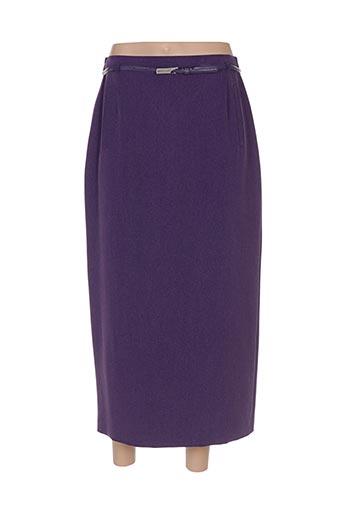 Jupe longue violet FRANKENWÄLDER pour femme