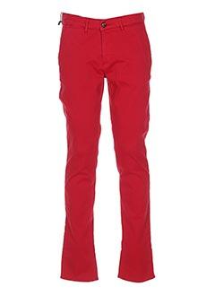 Pantalon casual rouge HAPPY pour homme