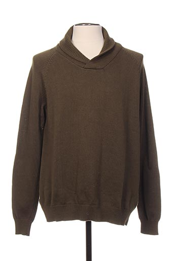 Pull col cheminée vert SELECTED pour homme
