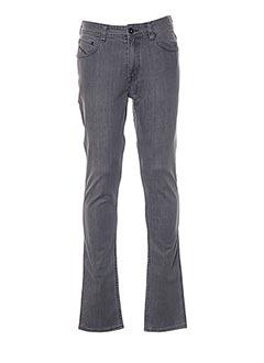 Jeans coupe slim gris QUIKSILVER pour homme