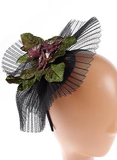 Accessoire pour cheveux noir JULIE PERLOUZE pour femme