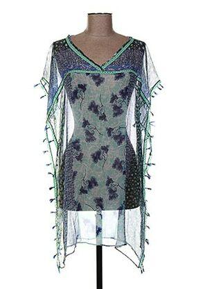 Tunique manches courtes bleu AMET & LADOUE pour femme
