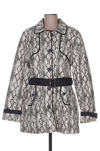 Manteau long noir BEARWOOD pour femme