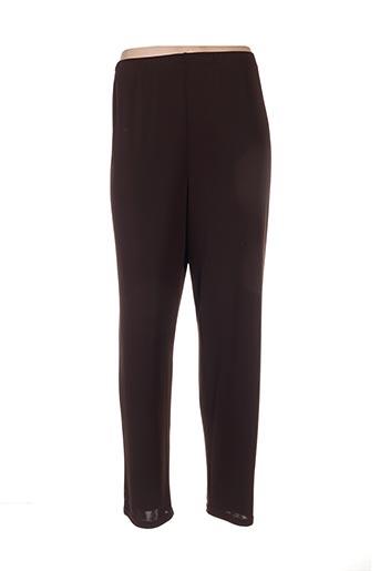 Pantalon casual marron EDMOND BOUBLIL pour femme