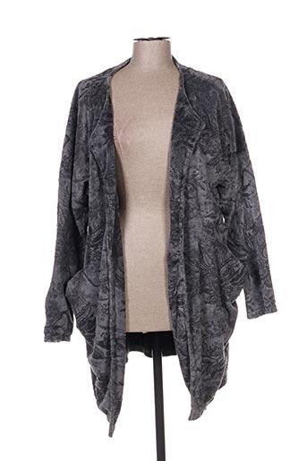 Veste casual gris DEFINE pour femme