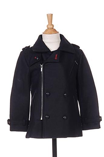 Manteau long bleu MARESE pour fille