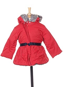 Manteau long rouge MARESE pour fille