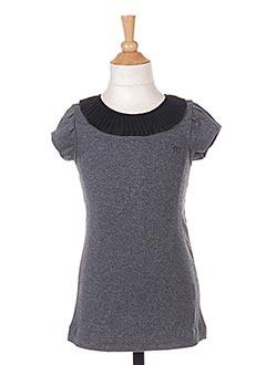 Robe courte gris MARESE pour fille