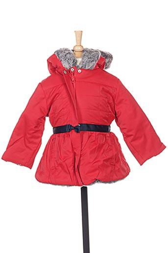 Manteau long rouge MARESE pour fille