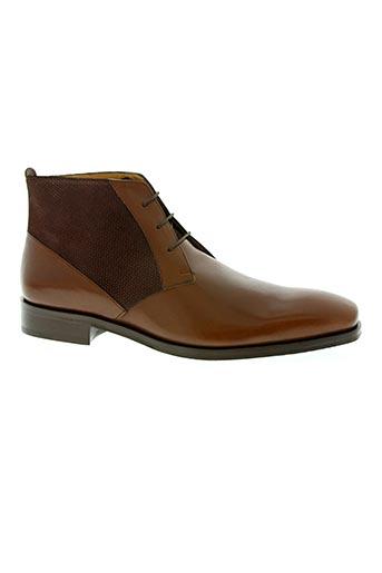 Bottines/Boots marron DE GIER pour homme