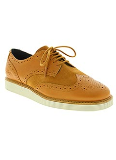 Derbies marron FRED PERRY pour homme
