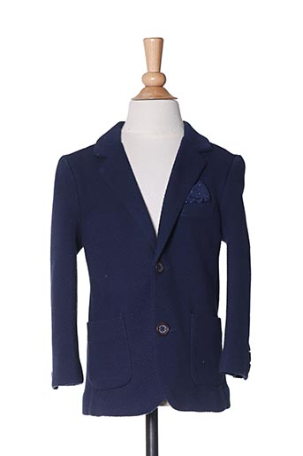 Veste chic / Blazer bleu MAYORAL pour garçon