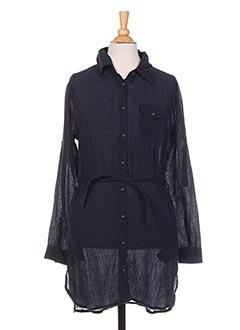 Robe mi-longue bleu PETROL INDUSTRIES pour fille