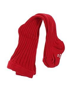 Collants rouge PETIT BATEAU pour fille