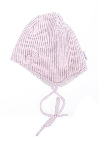 Bonnet rose STERNTALER pour fille