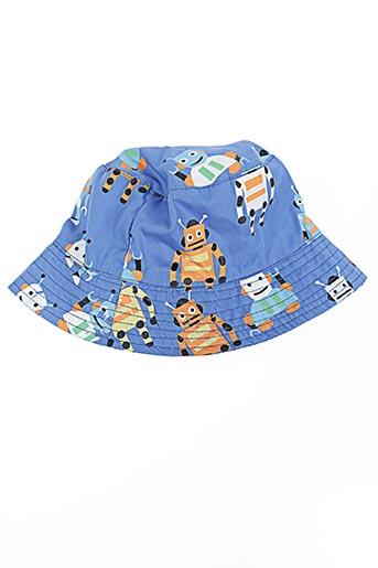 Chapeau bleu JIGLZ pour garçon