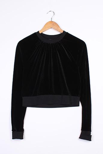 Sweat-shirt noir CHEAP MONDAY pour femme
