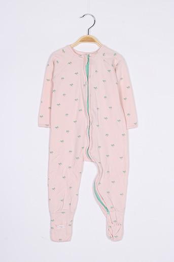 Pyjama rose COMÊTE pour enfant