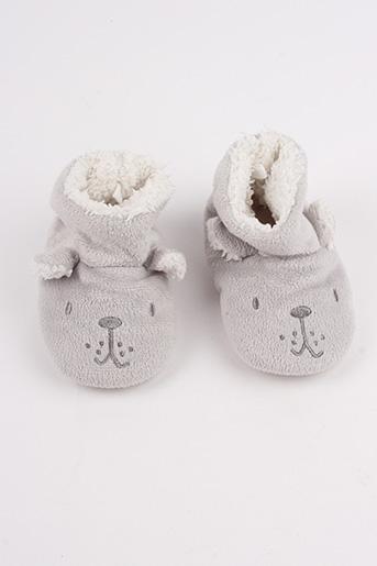 Chaussons/Pantoufles gris BOUT'CHOU pour garçon