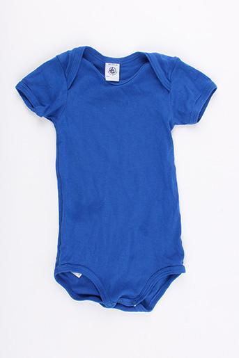 Body bleu PETIT BATEAU pour enfant