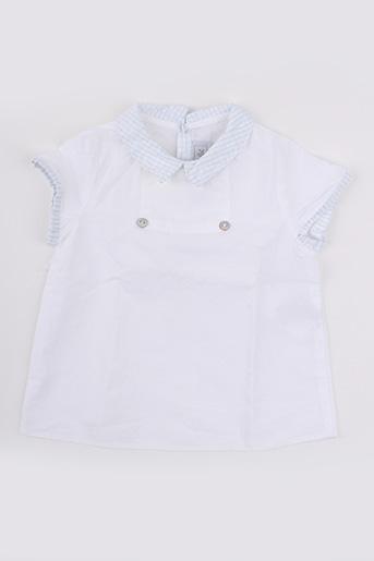 Chemise manches courtes blanc TARTINE ET CHOCOLAT pour garçon