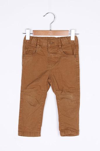 Pantalon casual marron BABY CLUB pour garçon