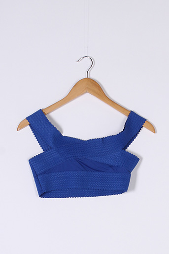 Top bleu PRETTY LITTLE THING pour femme