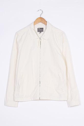 Veste casual blanc ASOS pour homme