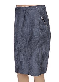 Jupe mi-longue gris JEAN DELFIN pour femme