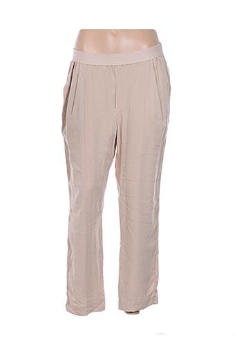 Pantalon casual beige ESE O ESE pour femme