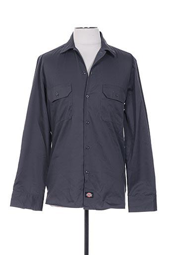 Chemise manches longues gris DICKIES pour homme