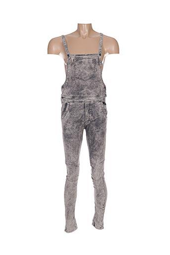 Jeans coupe slim gris ARMITA pour homme