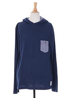 T-shirt manches longues bleu TIFFOSI pour garçon