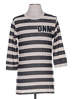 T-shirt manches longues noir RETOUR pour garçon