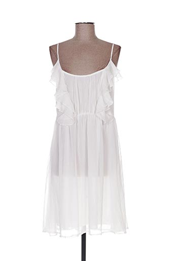 Robe mi-longue blanc CHARM'S pour femme