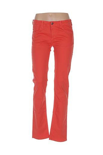 Pantalon casual orange TIFFOSI pour fille