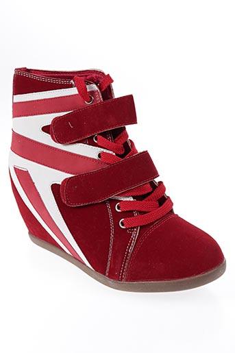 Baskets rouge FOLI FOLIO pour femme
