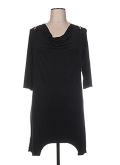 Robe courte noir DECA pour femme