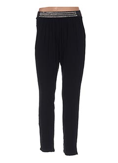 Pantalon casual noir ETAM pour femme