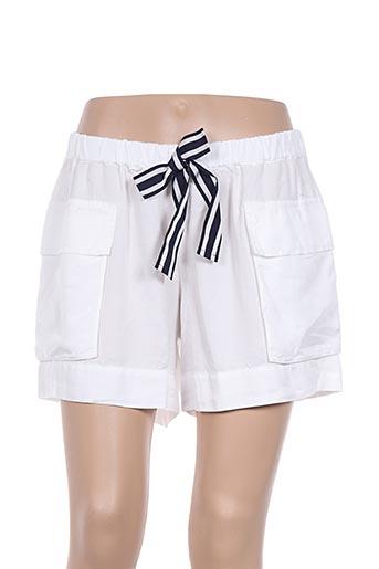 Short blanc DEHA pour femme