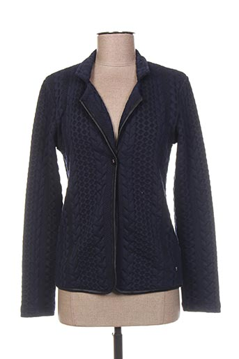 Veste chic / Blazer bleu THALASSA pour femme