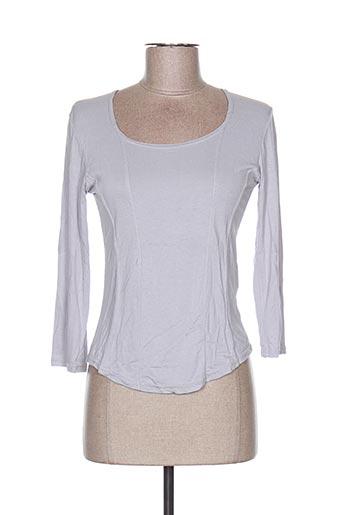 T-shirt manches longues gris FILLE D'AVRIL PARIS pour femme