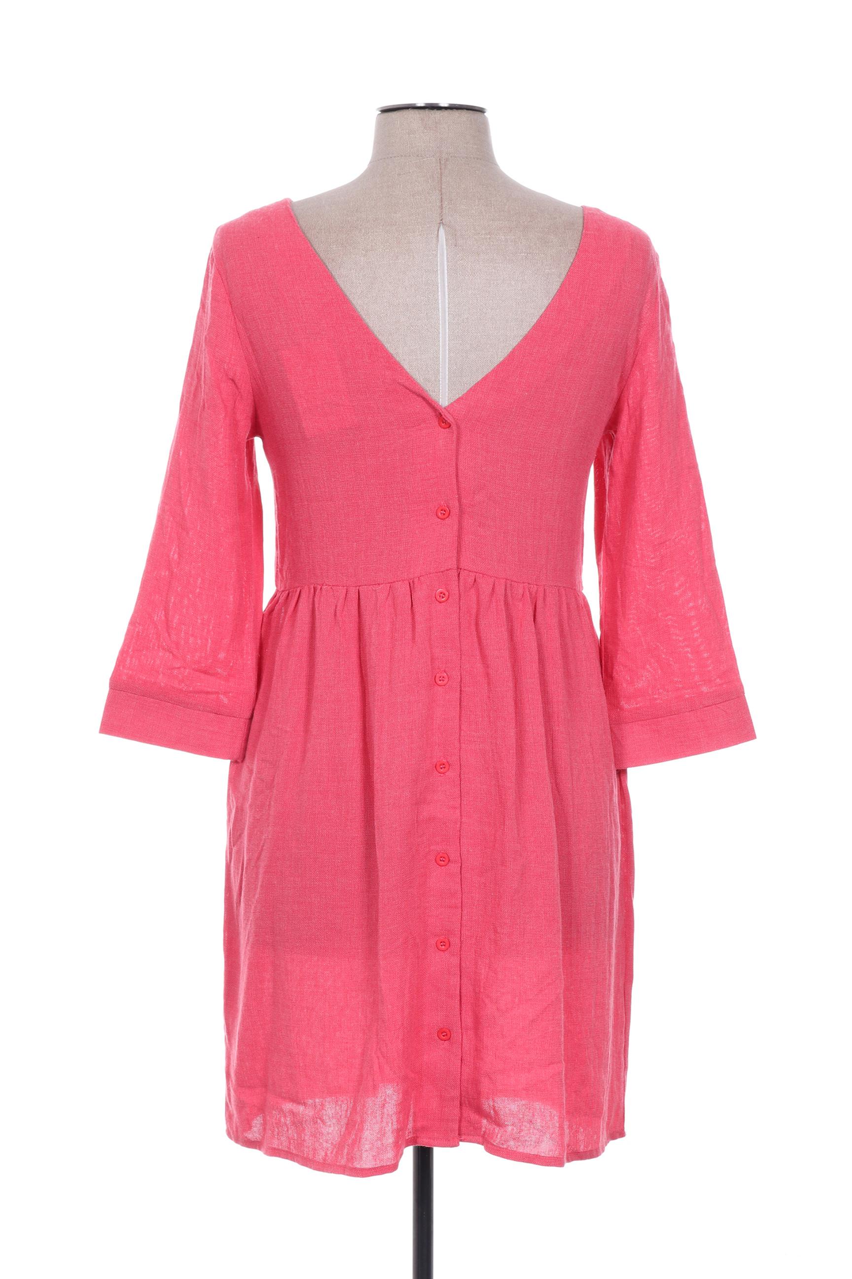 Cerise Blue Robes Courtes Femme De Couleur Rouge En Soldes Pas Cher 1361326-rouge0