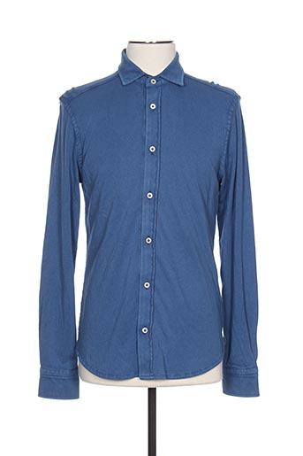 Chemise manches longues bleu CIRCOLO 1901 pour homme