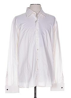 Chemise manches longues beige KARL LAGERFELD pour homme