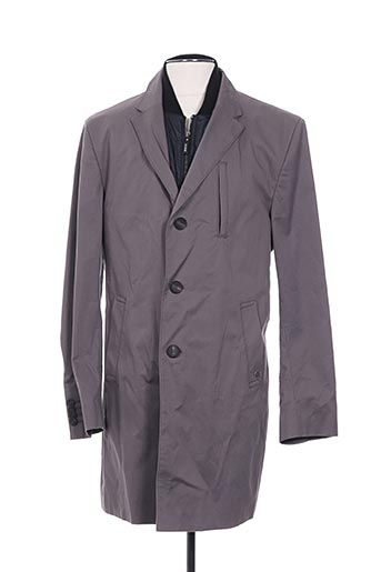 Imperméable/Trench gris CLUB OF GENTS pour homme
