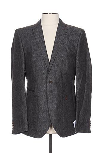 Veste chic / Blazer gris CLUB OF GENTS pour homme