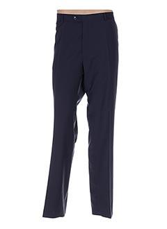 Pantalon chic bleu CARL GROSS pour homme
