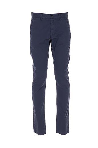 Pantalon casual bleu S.OLIVER pour homme