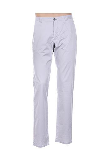 Pantalon casual gris BENVENUTO pour homme